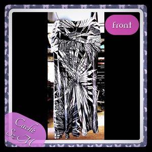 Cachè Women's strapless dress Sz M